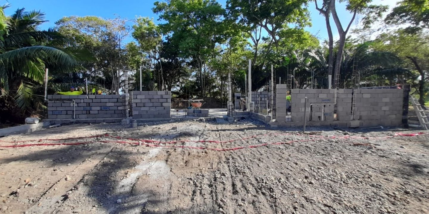 Coco Beach Lot 22 - Construction Update (March 16, 2021)