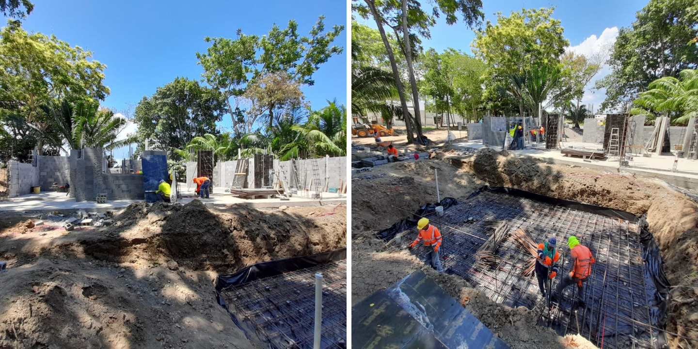 Coco Beach Lot 22 - Construction Update (March 26, 2021)