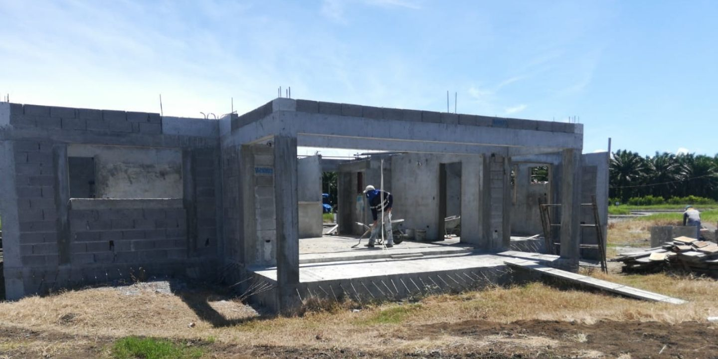 Coco Beach Lot 39 - Construction Update (July 01, 2021)